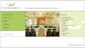 Öffentlichkeitsarbeit für Event-Location Kronbergers'